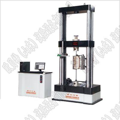 100kN塑料橡胶高低温拉伸试验机