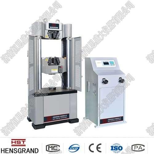 液压万能试验机的安装以及该设备速率不稳的原因